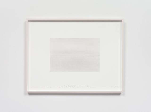 , 'Fog (Lake Wononscopomac),' 2016, Rhona Hoffman Gallery