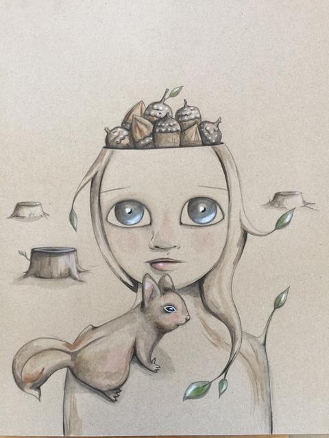 Vicky Parrella, 'Nuts', 2016, Joshua Tree Art Gallery