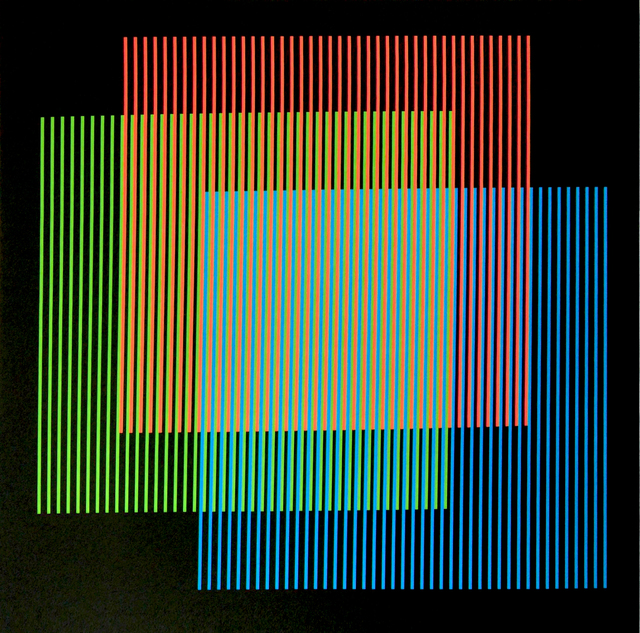 , 'Addition Chromatique RGB Serie Semana - Lunes,' 2013, Marion Gallery
