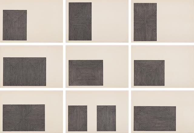 Frank Stella, 'Black Series I', 1967, Phillips