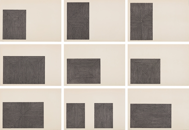 Frank Stella, 'Black Series I,' 1967, Phillips: Evening and Day Editions (October 2016)