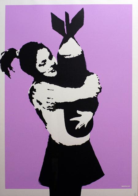 , 'Bomb Hugger,' 2003, Gormleys Fine Art