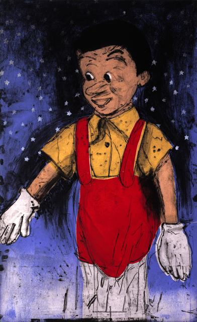 Jim Dine, 'Pinocchio's Blue Wall', 2000, Galerie de Bellefeuille