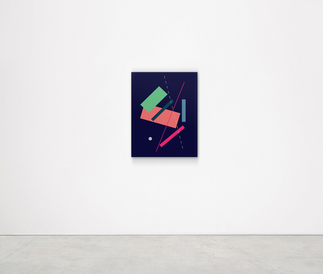 , 'I Have Put Color and Knotted it. Swim! (Kasimir Malevich),' 2018, Kristin Hjellegjerde Gallery