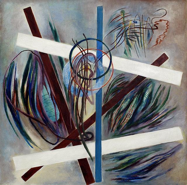 , 'Contrast No. 1,' 1943–45, Weinstein Gallery