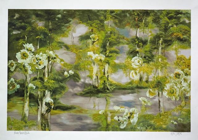 , ' Pavots forêt 1 ,' 2016, Amy Li Gallery