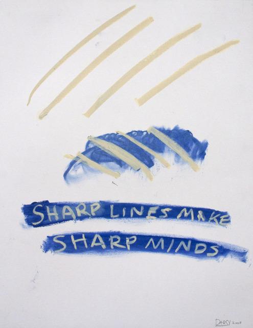 , 'Sharp lines,' 2013-2014, NUNU FINE ART