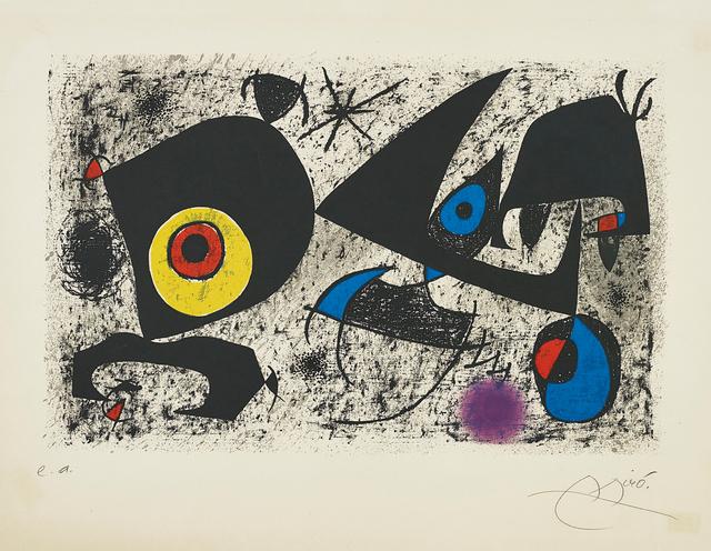 Joan Miró, 'Hommage à Miró', 1972, Phillips