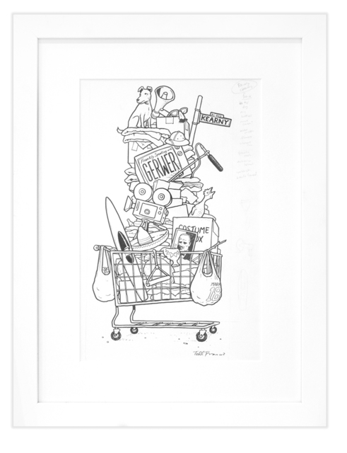 """Todd Francis, 'GERWER """"SHOPPING CART""""', Subliminal Projects"""