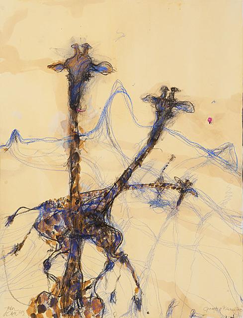 , 'Giraffes and Kilamanjaro,' 2014, Metro Gallery