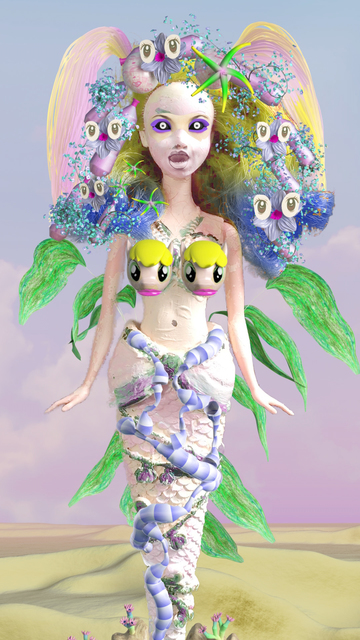 , 'Mermaid,' 2016, Upfor