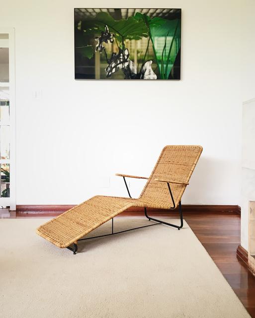, 'Chaise Longue in Iron and Cane,' ca. 1960, Apartamento 61