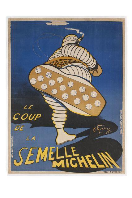 , 'Le Coup de la Semelle Michelin ,' 1905, Les Arts Décoratifs