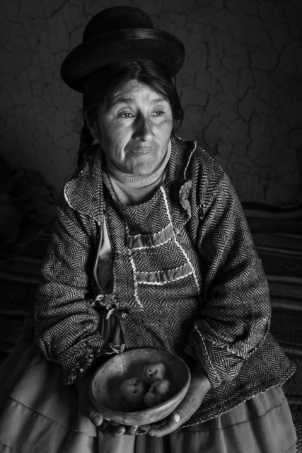 , 'Quechua Potato Farmer. Near Lake Puno, Peru,' 2019, PHOTIQ