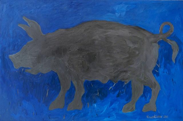 , 'Grey Pig,' 2012, iPreciation