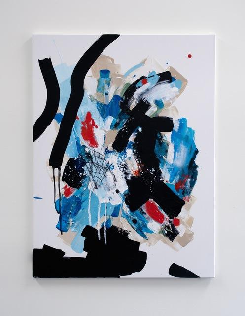 , 'Black Ice,' 2016, Glass Rice