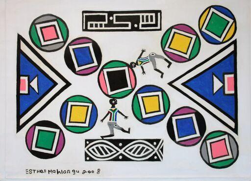 Esther Mahlangu, 'Untitled', 2008, Malin Gallery