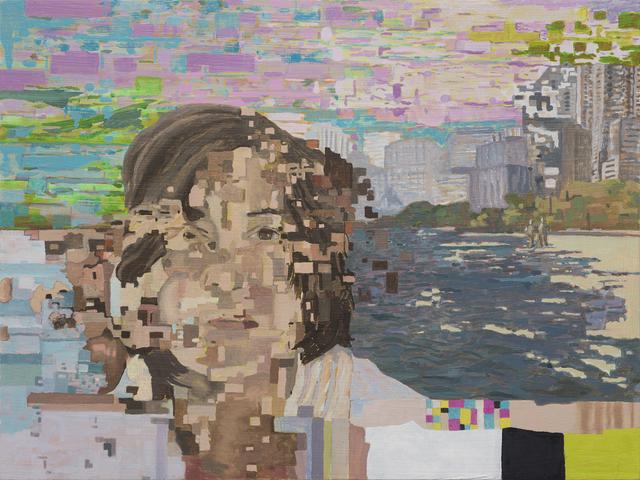 , 'Distortion 20 (Self Portrait- Lake),' 2018, Bert Green Fine Art