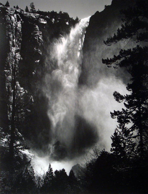 Ansel Adams, 'Bridalveil Falls, Early Special Edition Print', 1927, Weston Gallery