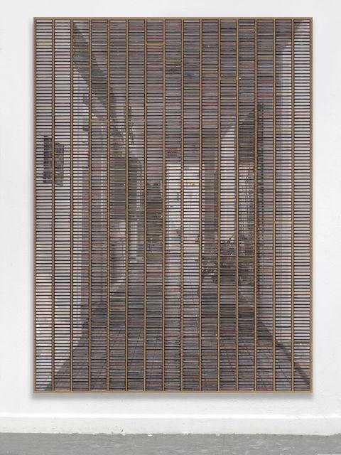 """Gregor Hildebrandt, '""""Der Flur Blick von der Tür""""', 2019, Almine Rech"""