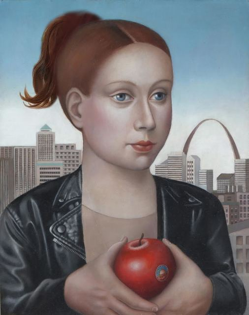 , 'Woman with Organic Apple,' , Front Room Gallery