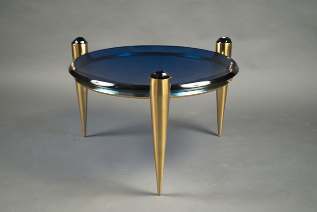 ", 'Coffee Table ""Blu Profondo"",' 2016, Bernd Goeckler Antiques"
