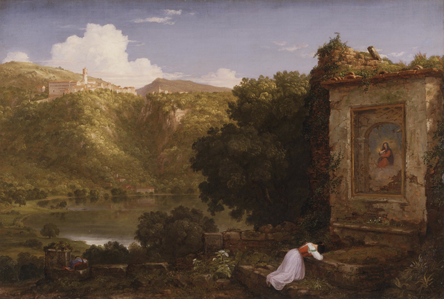 Thomas Cole, 'Il Penseroso', 1845, Los Angeles County Museum of Art