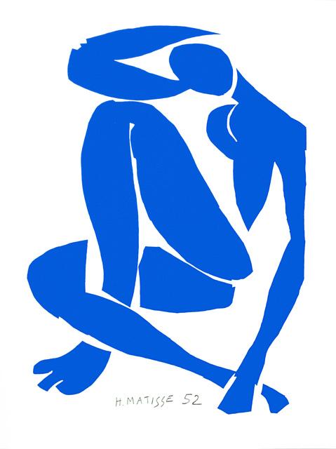 , 'Nu Bleu IV (Blue Nude IV),' 2007, Art Lithographies