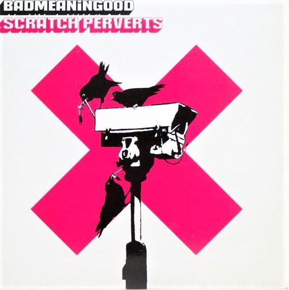 Banksy, 'BADMEANINGOOD : Scratch Perverts', 2003, Ephemera or Merchandise, LP cover, AYNAC Gallery