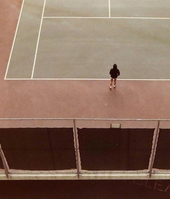 David Hockney, 'Tennis Court', 1973, Caviar20