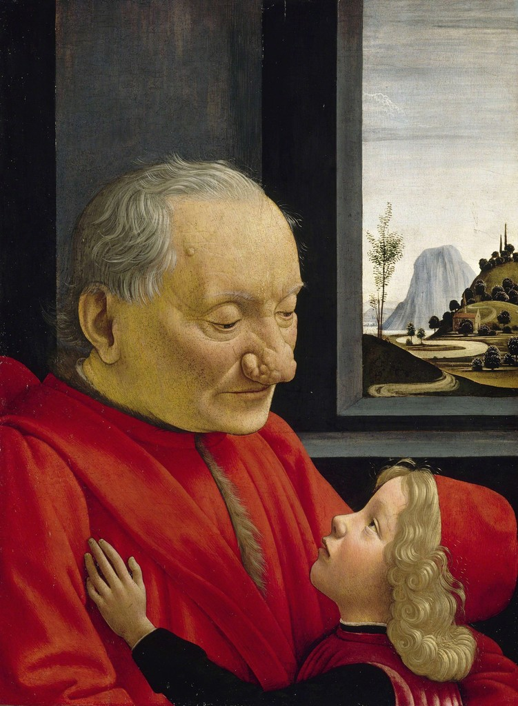 Domenico Ghirlandaio, 'Portrait of an Old Man and a Young Boy,' ca. 1490, Musée du Louvre