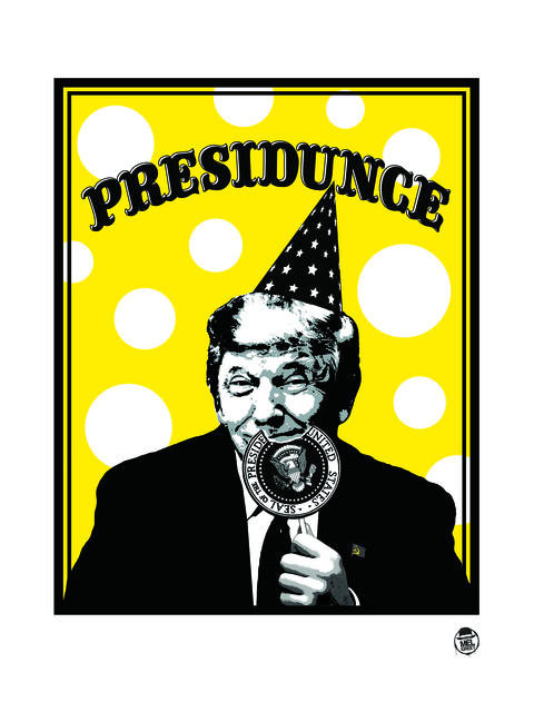 , 'Presidunce,' 2018, Bruce Lurie Gallery