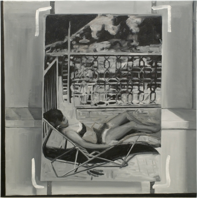 Greg Allen, 'Destroyed Richter Painting No. 4', 2012, Painting, Oil on canvas, Magdalena Sawon
