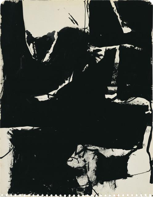 Richard Diebenkorn, 'Untitled #10', ca. 1950, Richard Diebenkorn Foundation