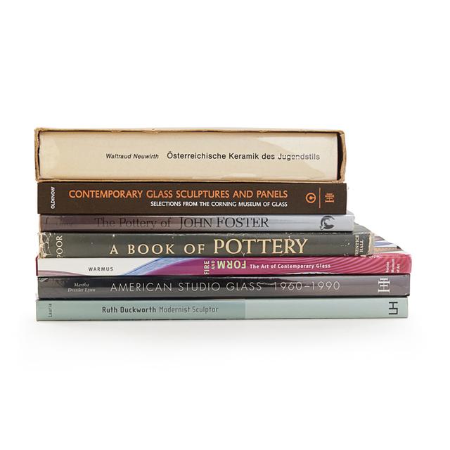 'Modern Glass And Ceramics Books', Rago/Wright