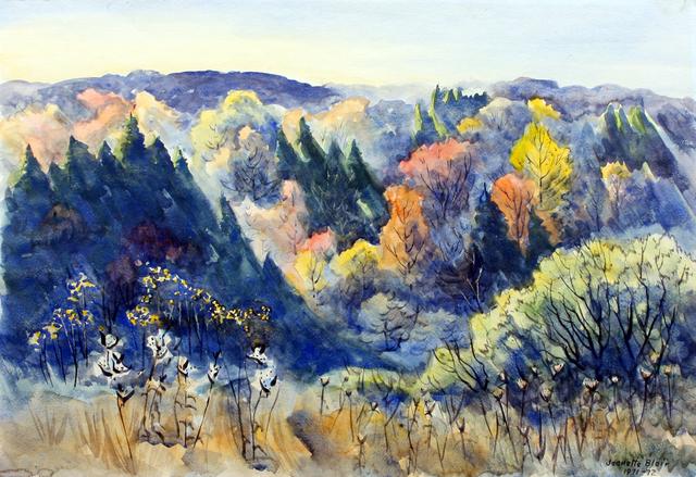 , 'Holland Hills Autumn,' ca. 1960, Benjaman Gallery Group