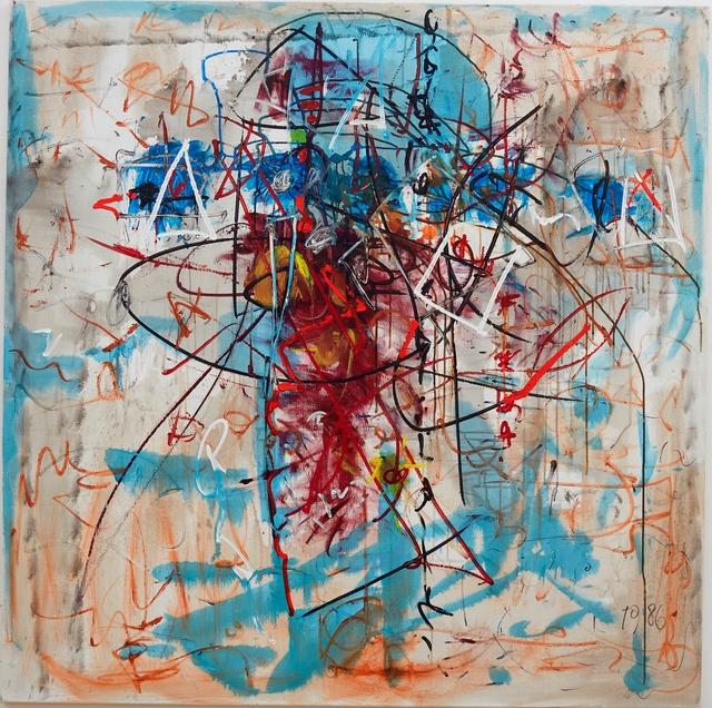 , 'Kreuz,' 1986, Galerie Ernst Hilger
