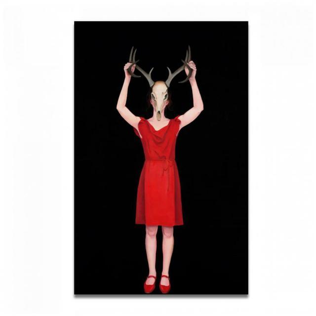 Loretta Hirsch, 'RED NO. 3', Exhibit by Aberson