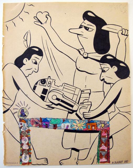 HuskMitNavn, 'Untitled 2', 2013, Ruttkowski;68
