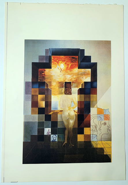 Salvador Dalí, 'Lincoln in Dalivision', 1977, David Lawrence Gallery