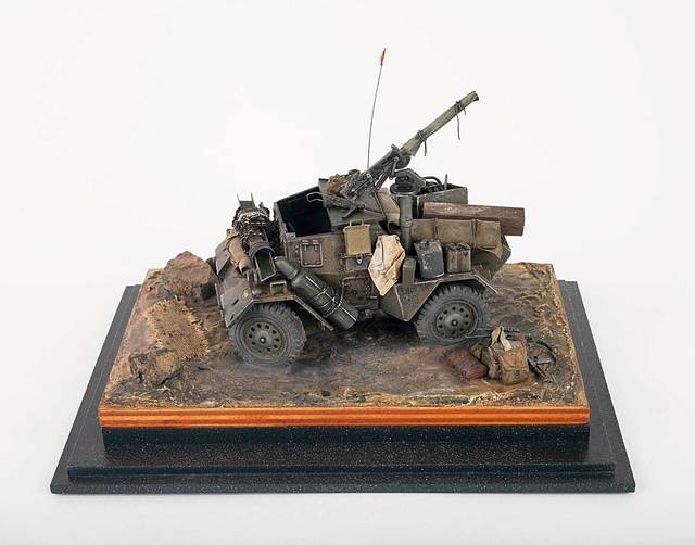 , 'Armored Vehicle Model,' , Allan Stone Projects