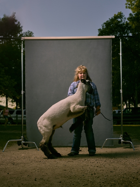 , 'Carolana and unnamed sheep, West Otter Tail County Fair, Minnesota, 2016,' 2016, Burnet Fine Art & Advisory
