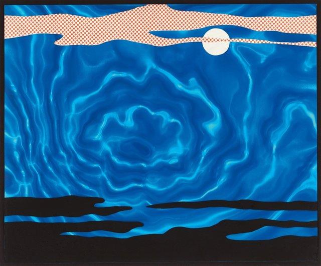 Roy Lichtenstein, 'Moonscape', 1965, OSME Fine Art
