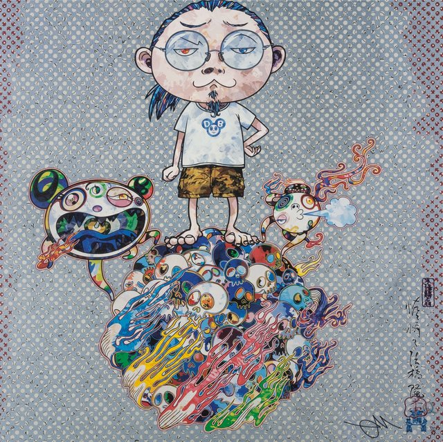 Takashi Murakami, 'Kaikai, Kiki, and Me and Mr. DOB Comes to Play His Flute (two works)', 2013, Heritage Auctions