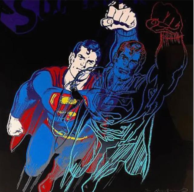 Andy Warhol, 'Superman F.S. II 260 ', 1981, Print, Screen print, Lush Art Agency
