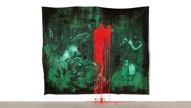 , 'Farsa - Manet (A execução de soldados do EIIL),' 2014, Galería Vermelho