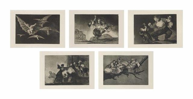 Francisco de Goya, 'Los Proverbios', 1816-24, Christie's