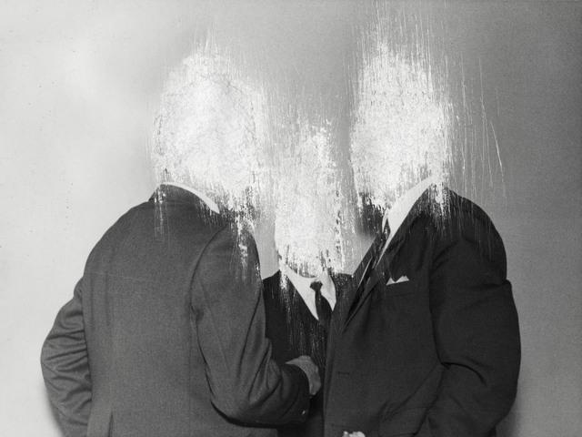 , 'Men in suit #1,' 2018, GE Galería