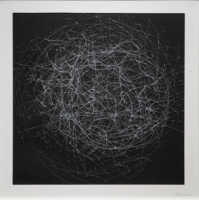 , 'CHAOS DRAWINGS #7,' 2017, Traver Gallery