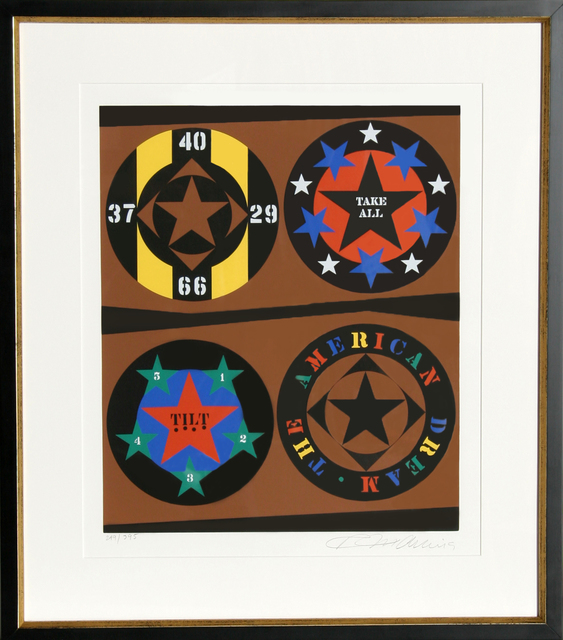 Robert Indiana, 'Tilt from The American Dream Portfolio', 1997, RoGallery
